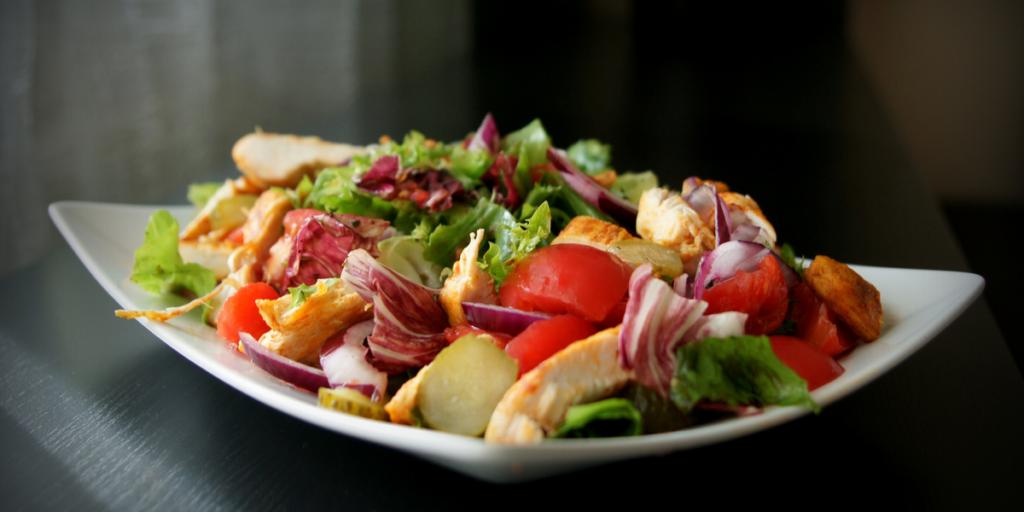 Southwest Chicken Salad with Cilantro Dressing