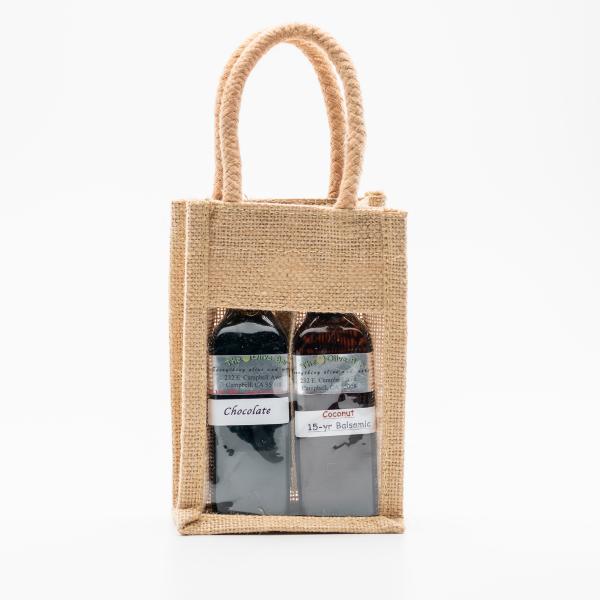 2 pack aged balsamic vinegar gift set