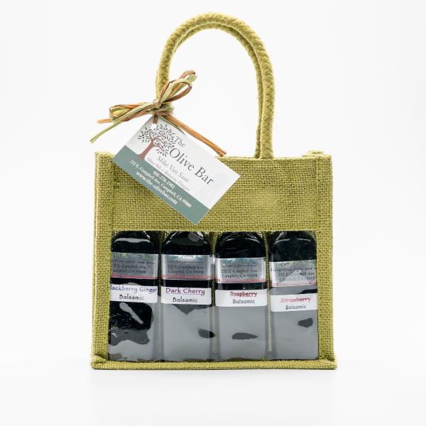 4 pack aged balsamic vinegar gift set