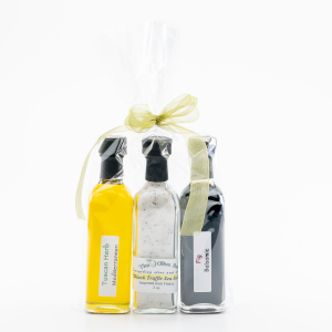 Balsamic, Olive Oil, Salt Gift Set